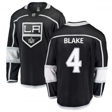 Breakaway Fanatics Branded Youth Rob Blake Los Angeles Kings Home Jersey - Black